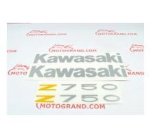 Комплект наклейок Kawasaki Z-750