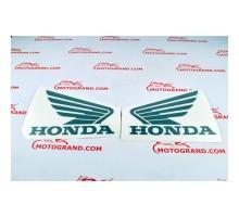 Наклейки на бак Honda