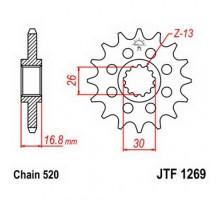 Зірка передня JTF1269.16