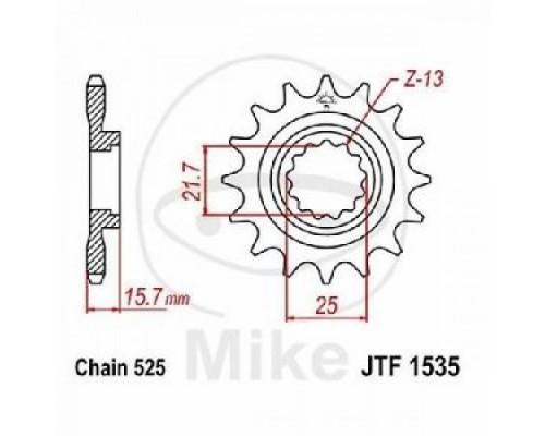 Зірка передня JTF1535.15