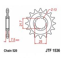 Зірка передня JTF1536.16