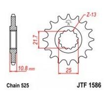 Зірка передня JTF1586.15