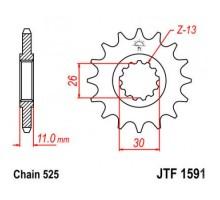 Зірка передня JTF1591.16