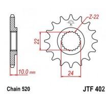 Зірка передня JTF402.16