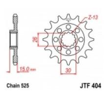 Зірка передня JTF404.17