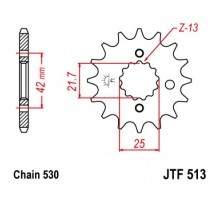 Зірка передня JTF513.18