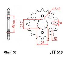 Зірка передня JTF519.17