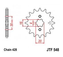 Зірка передня JTF548.13