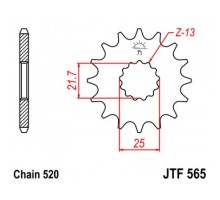 Зірка передня JTF565.15