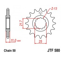 Зірка передня JTF580.16