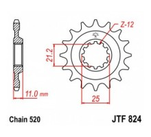 Зірка передня JTF824.15